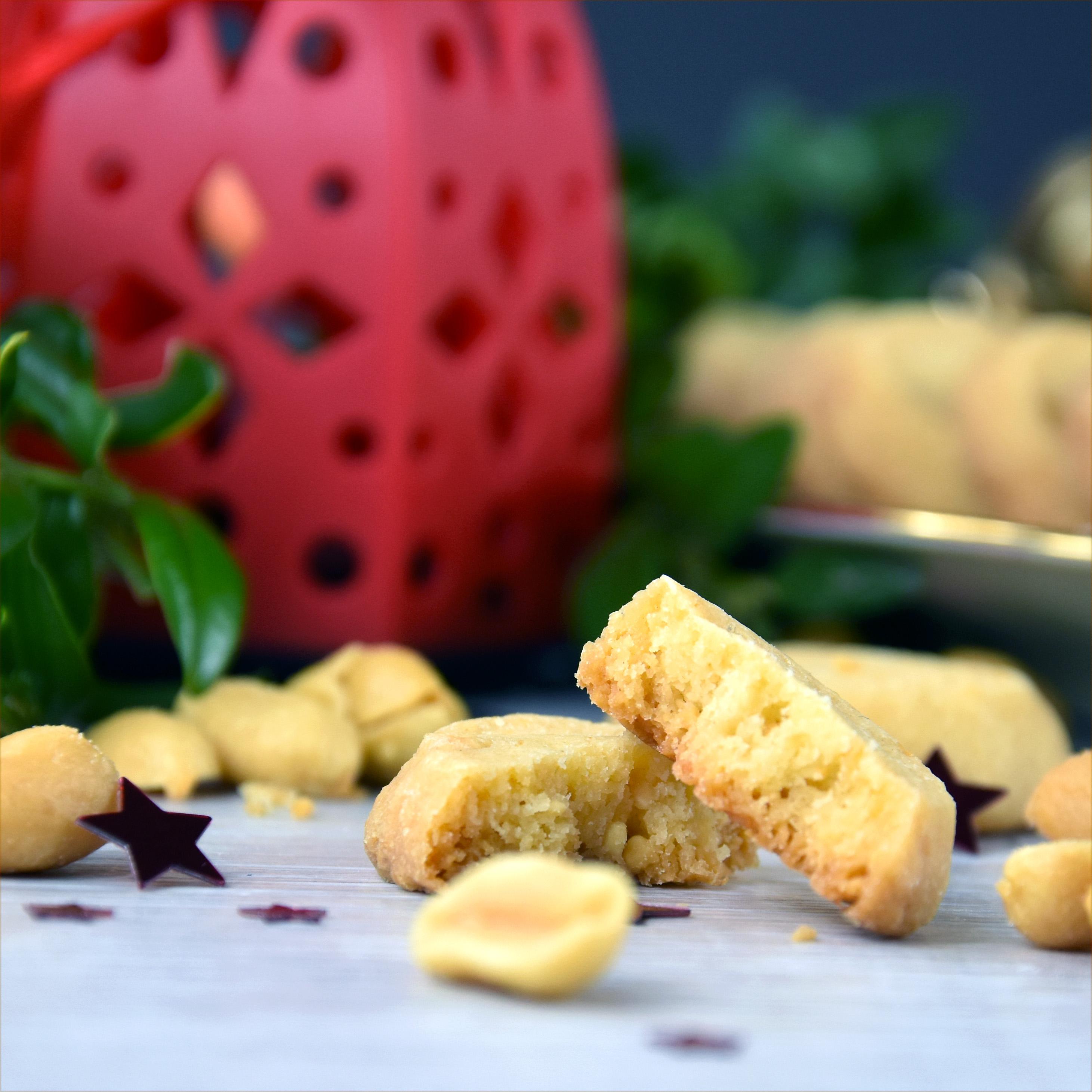 Erdnussplätzchen mit Butterschmalz {enthält Werbung}